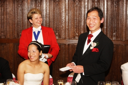wedding toastmaster kent